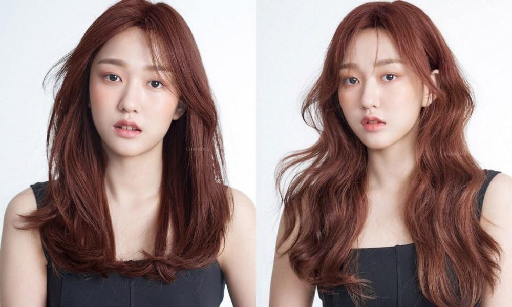 Học theo sao Hàn nhuộm tóc, chị em U40 mặt trẻ hơn tuổi Ảnh 7