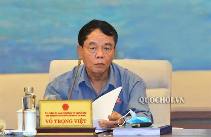Thượng tướng Võ Trọng Việt bị đột quỵ, đang điều trị tại Bệnh viện Trung ương Quân đội 108 Ảnh 1