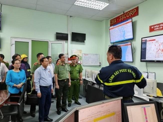Cảnh sát PCCC TP.HCM lên phương án đảm bảo an toàn đợt bầu cử Ảnh 1