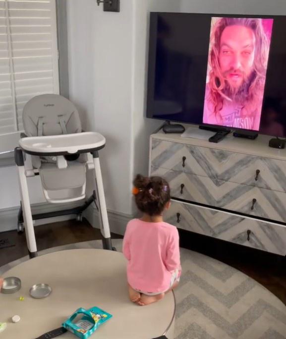 Con gái The Rock là fan của 'Aquaman' Jason Momoa Ảnh 3