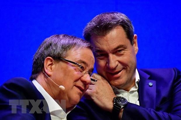 Đức: Chủ tịch CDU và CSU chưa thống nhất được ứng cử viên Thủ tướng Ảnh 1