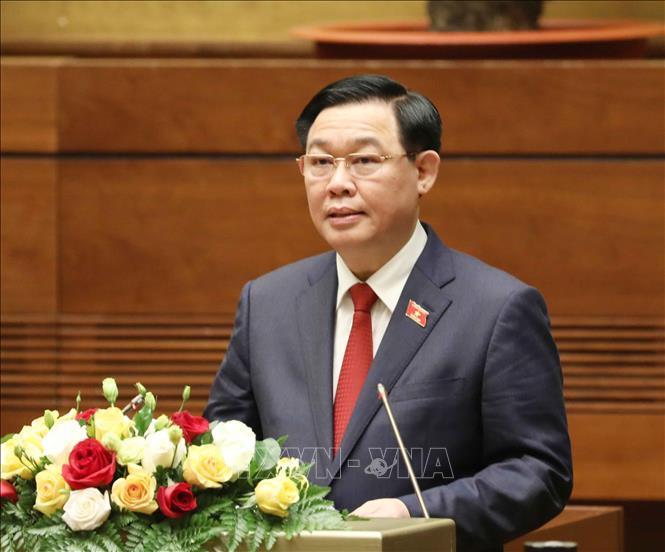 Lãnh đạo Quốc hội các nước gửi thư chúc mừng Chủ tịch Quốc hội Vương Đình Huệ Ảnh 1