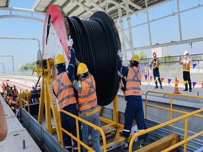 Sắp đóng điện trạm biến áp Bình Thái cho tuyến metro số 1 Ảnh 1