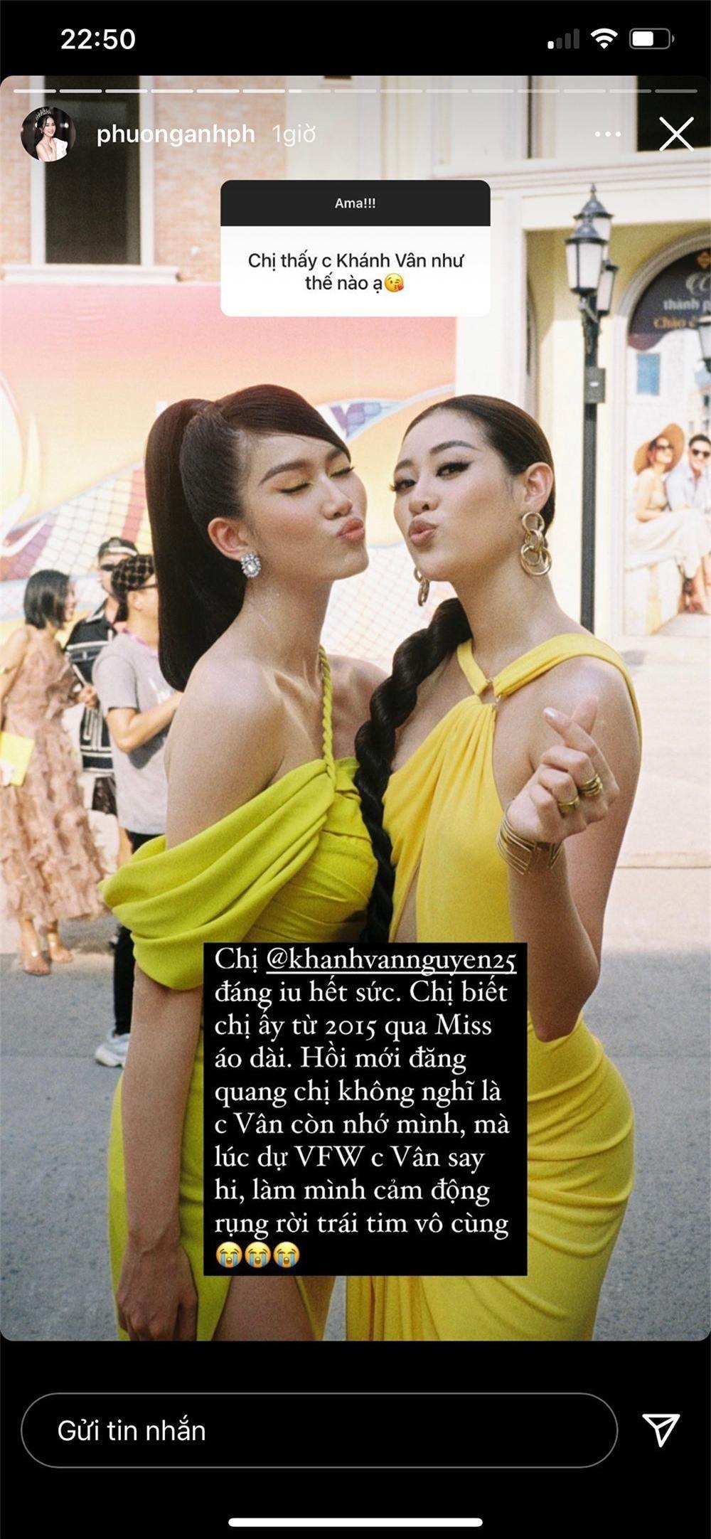 Á hậu Phương Anh chia sẻ bất ngờ khi được fan hỏi cảm nhận về Hoa hậu Đỗ Thị Hà, Ngọc Thảo Ảnh 5