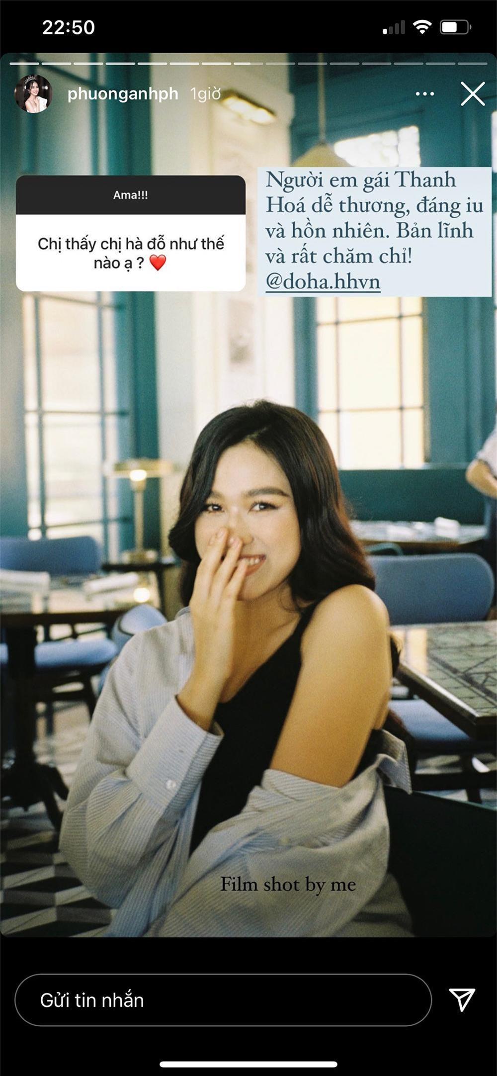 Á hậu Phương Anh chia sẻ bất ngờ khi được fan hỏi cảm nhận về Hoa hậu Đỗ Thị Hà, Ngọc Thảo Ảnh 3
