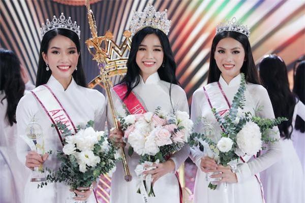 Á hậu Phương Anh chia sẻ bất ngờ khi được fan hỏi cảm nhận về Hoa hậu Đỗ Thị Hà, Ngọc Thảo Ảnh 1