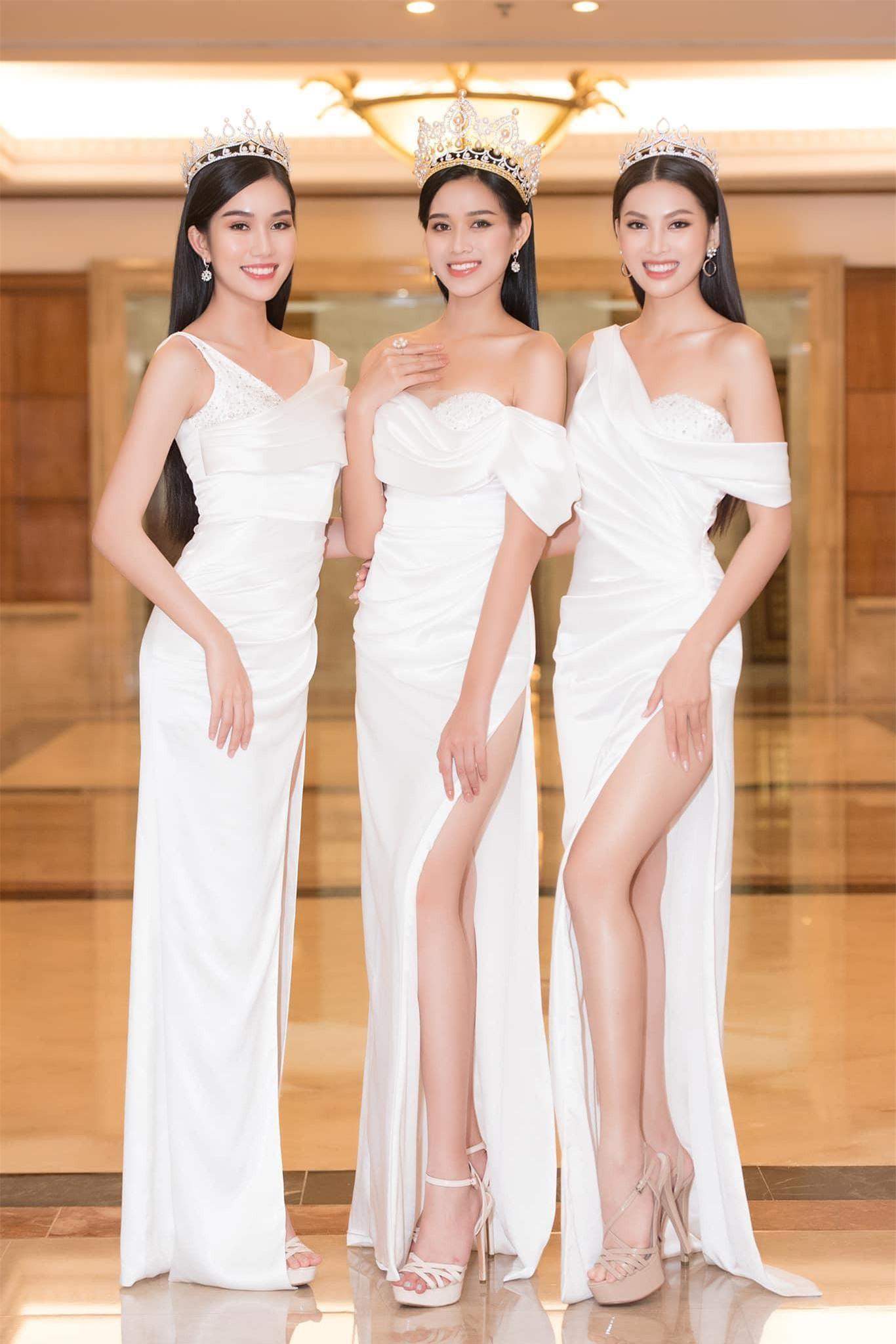 Á hậu Phương Anh chia sẻ bất ngờ khi được fan hỏi cảm nhận về Hoa hậu Đỗ Thị Hà, Ngọc Thảo Ảnh 2
