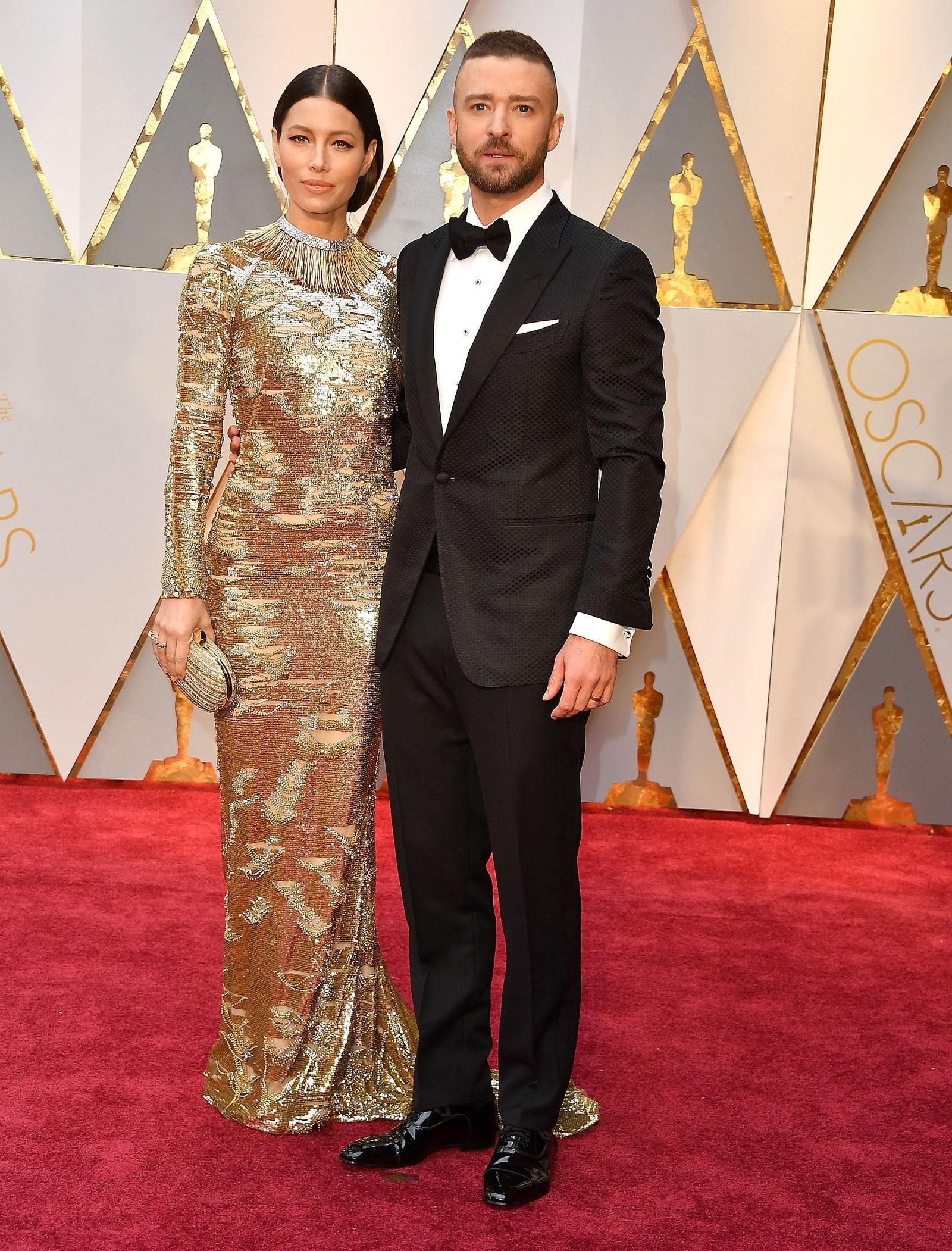 Những cặp tình nhân mặc đẹp trên thảm đỏ Oscar Ảnh 10