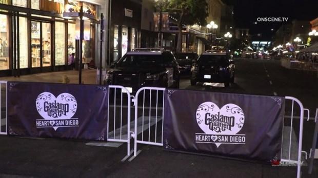 Mỹ: Xả súng tại trung tâm thành phố San Diego gây thương vong Ảnh 1