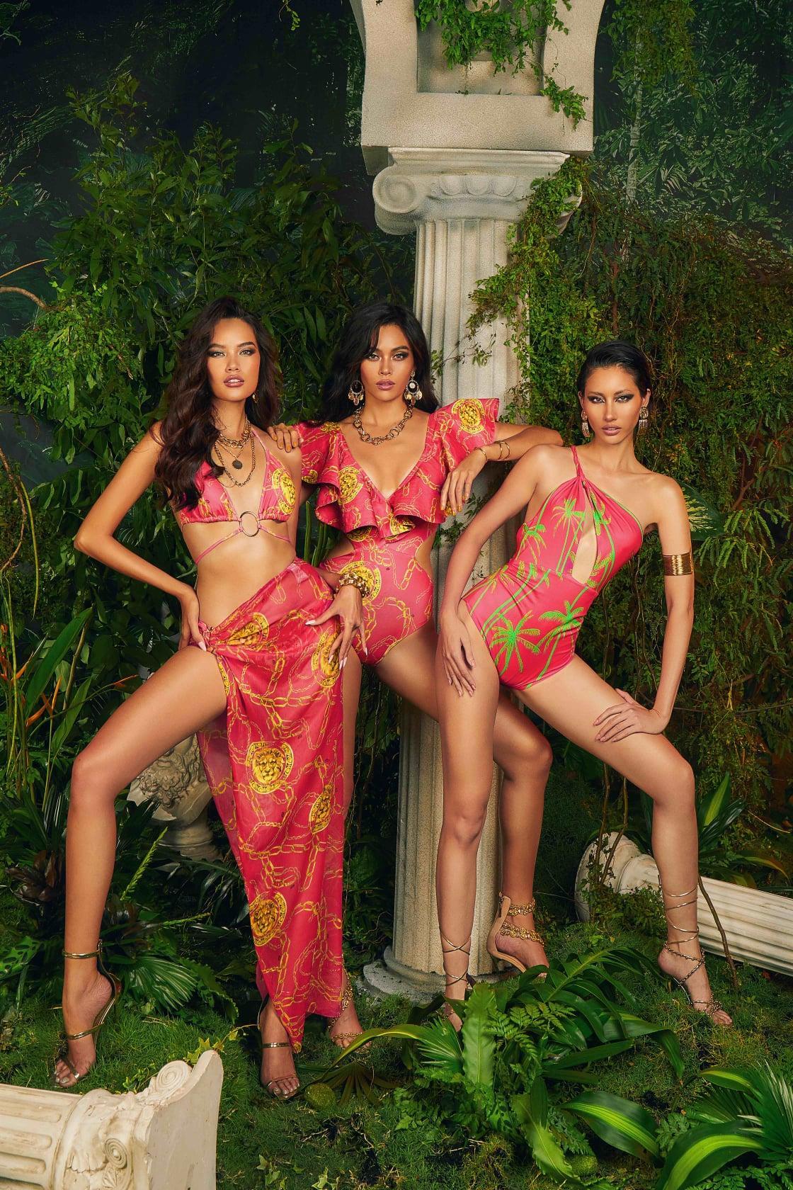 Mâu Thủy, Hằng Nguyễn, Hoàng Phương hóa nữ thần nóng bỏng trong bộ sưu tập xuân hè 'Barroco' Ảnh 6