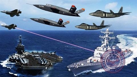 Mỹ lập 3 đợt không kích, địch tuyệt vọng bắn hết đạn Ảnh 1