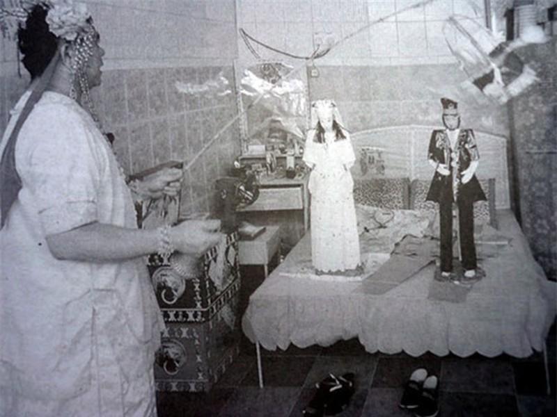 Tục minh hôn, cưới vợ, cưới chồng cho người chết ở Trung Quốc Ảnh 2