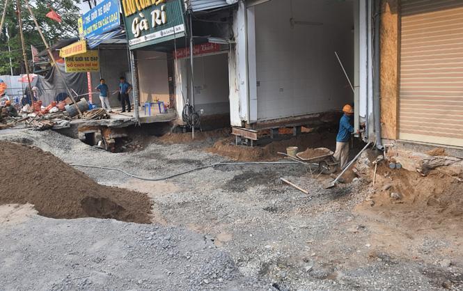 Hà Nội tập trung xử lý hố 'tử thần' ở xã Quảng Bị Ảnh 1