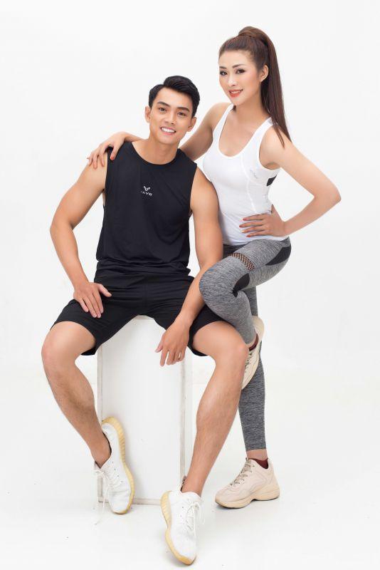 Dàn sao Vietnam Fitness Model tung bộ ảnh mãn nhãn cổ động mùa giải 2021 Ảnh 8