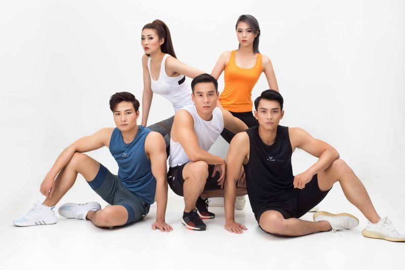 Dàn sao Vietnam Fitness Model tung bộ ảnh mãn nhãn cổ động mùa giải 2021 Ảnh 4