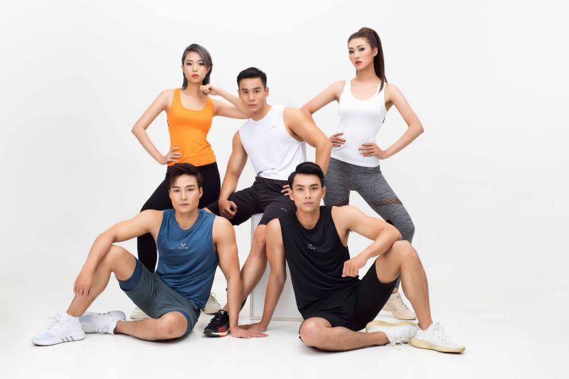Dàn sao Vietnam Fitness Model tung bộ ảnh mãn nhãn cổ động mùa giải 2021 Ảnh 1