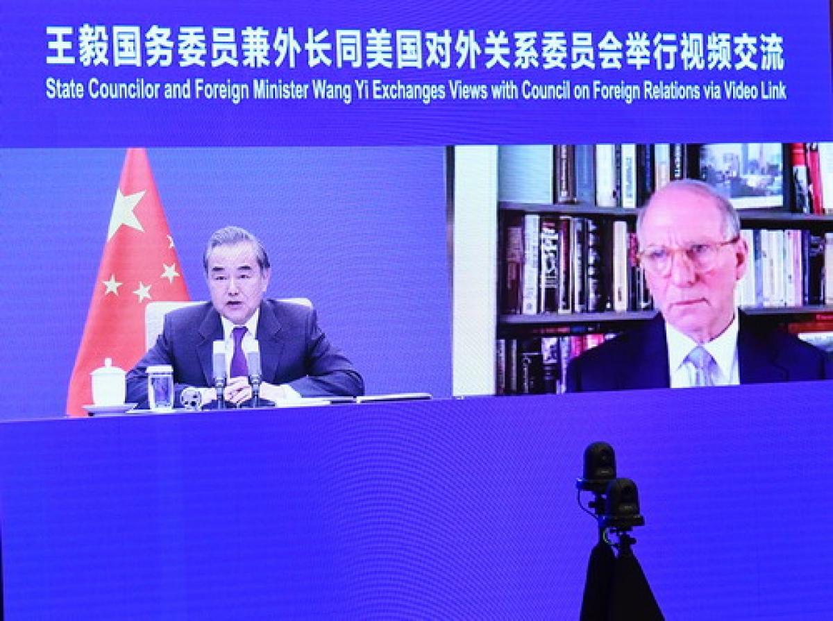 Ngoại trưởng Vương Nghị: Mỹ chưa tìm được con đường đúng đắn kết giao với Trung Quốc Ảnh 1