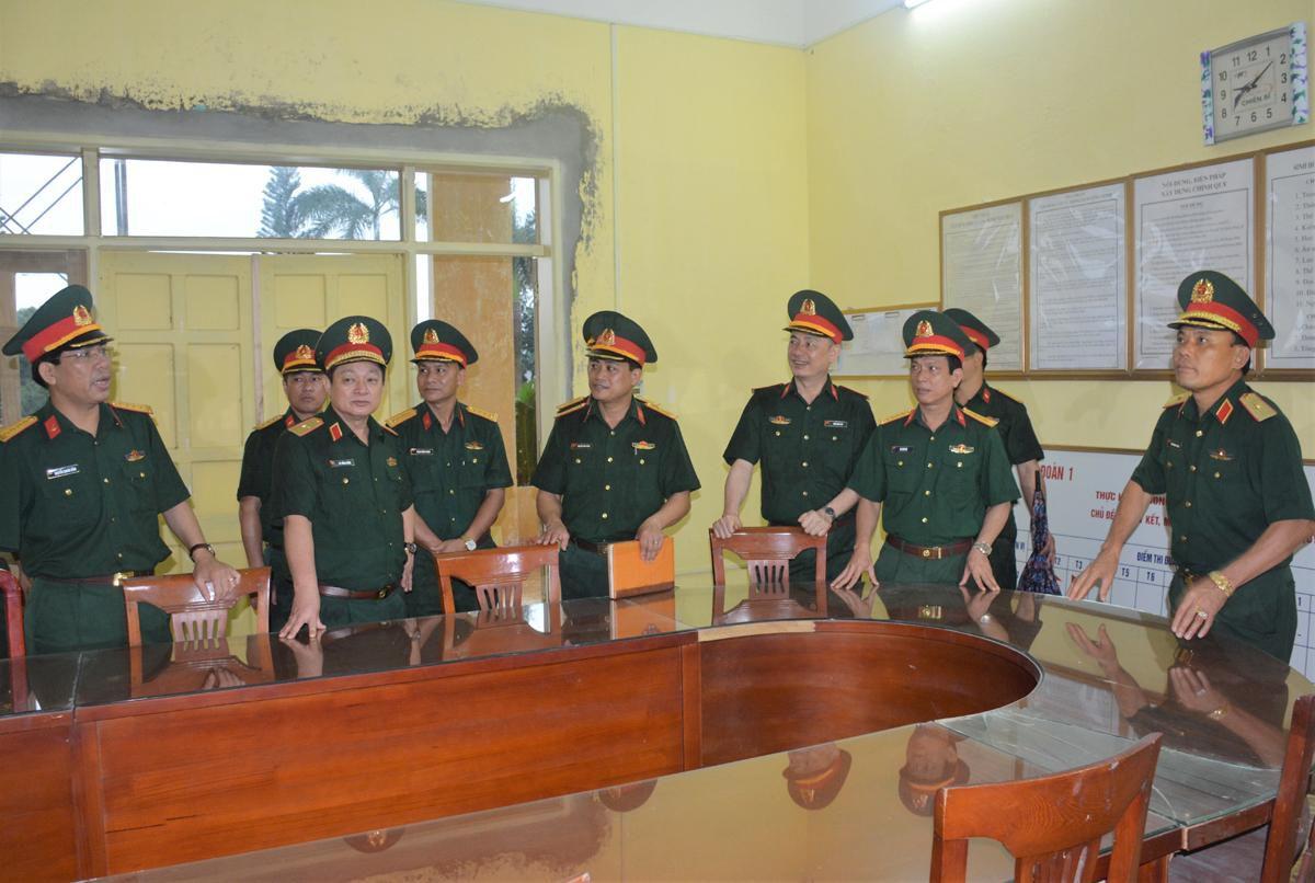 Tổng cục Hậu cần kiểm tra công tác chuẩn bị hội thi doanh trại tại Lữ đoàn 405, Quân khu 3 Ảnh 2