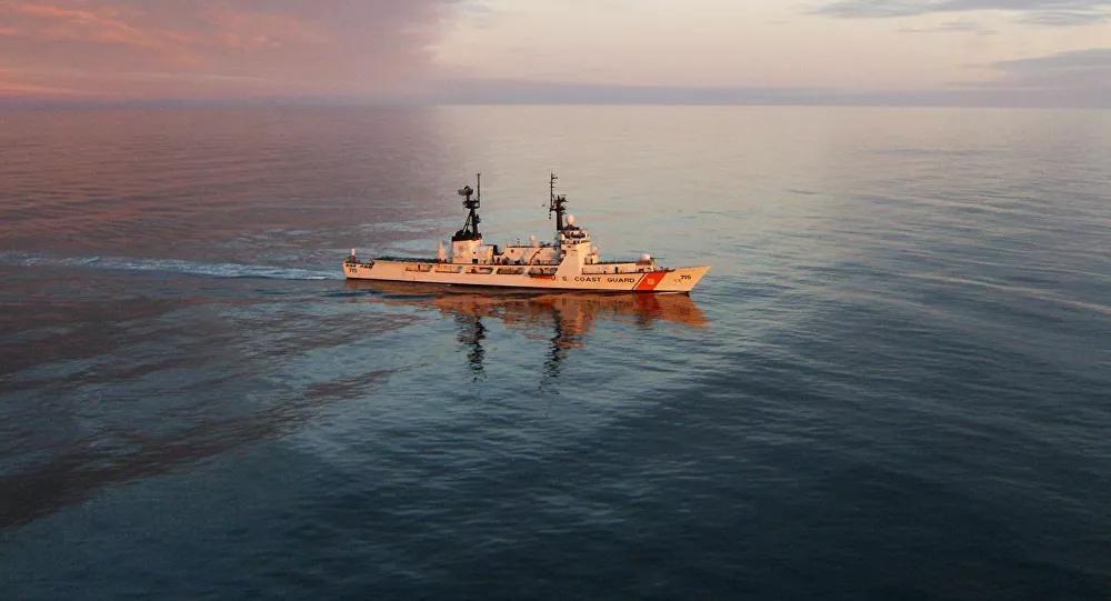 Tàu tuần tra lớp Hamilton của Mỹ tiến vào Biển Đen Ảnh 1