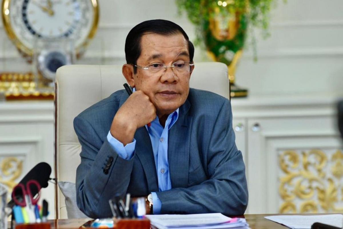 Thủ tướng Campuchia khẳng định sức khỏe bình thường khi đang cách ly Ảnh 1