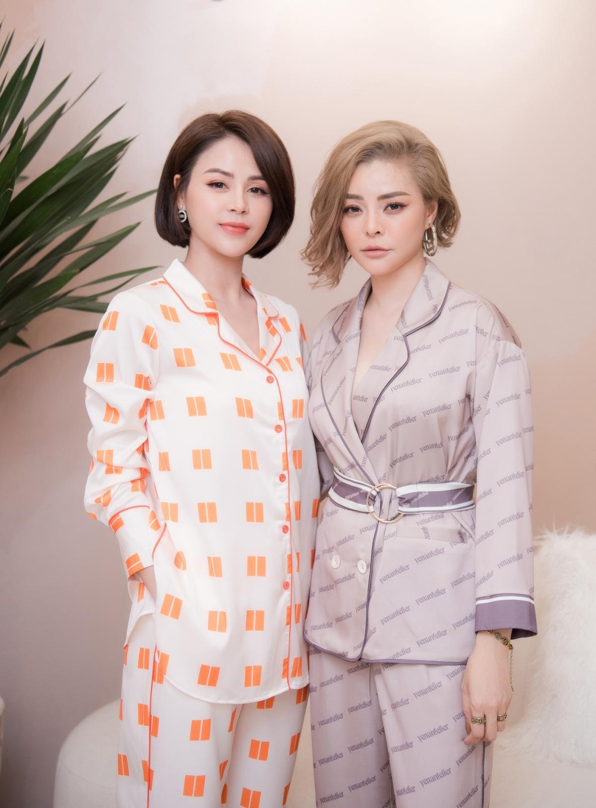 Lương Thu Trang, Dương Thùy Linh nổi bật trong pijama của NTK Thu Yến Ảnh 6