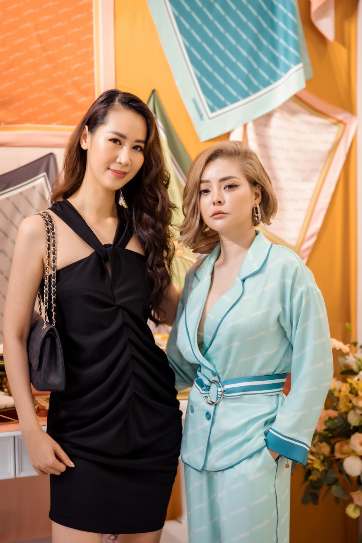 Lương Thu Trang, Dương Thùy Linh nổi bật trong pijama của NTK Thu Yến Ảnh 8