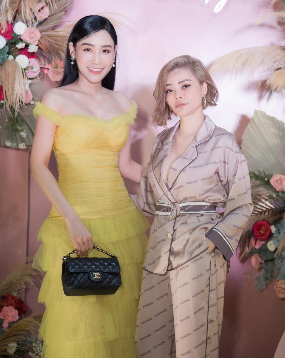 Lương Thu Trang, Dương Thùy Linh nổi bật trong pijama của NTK Thu Yến Ảnh 10