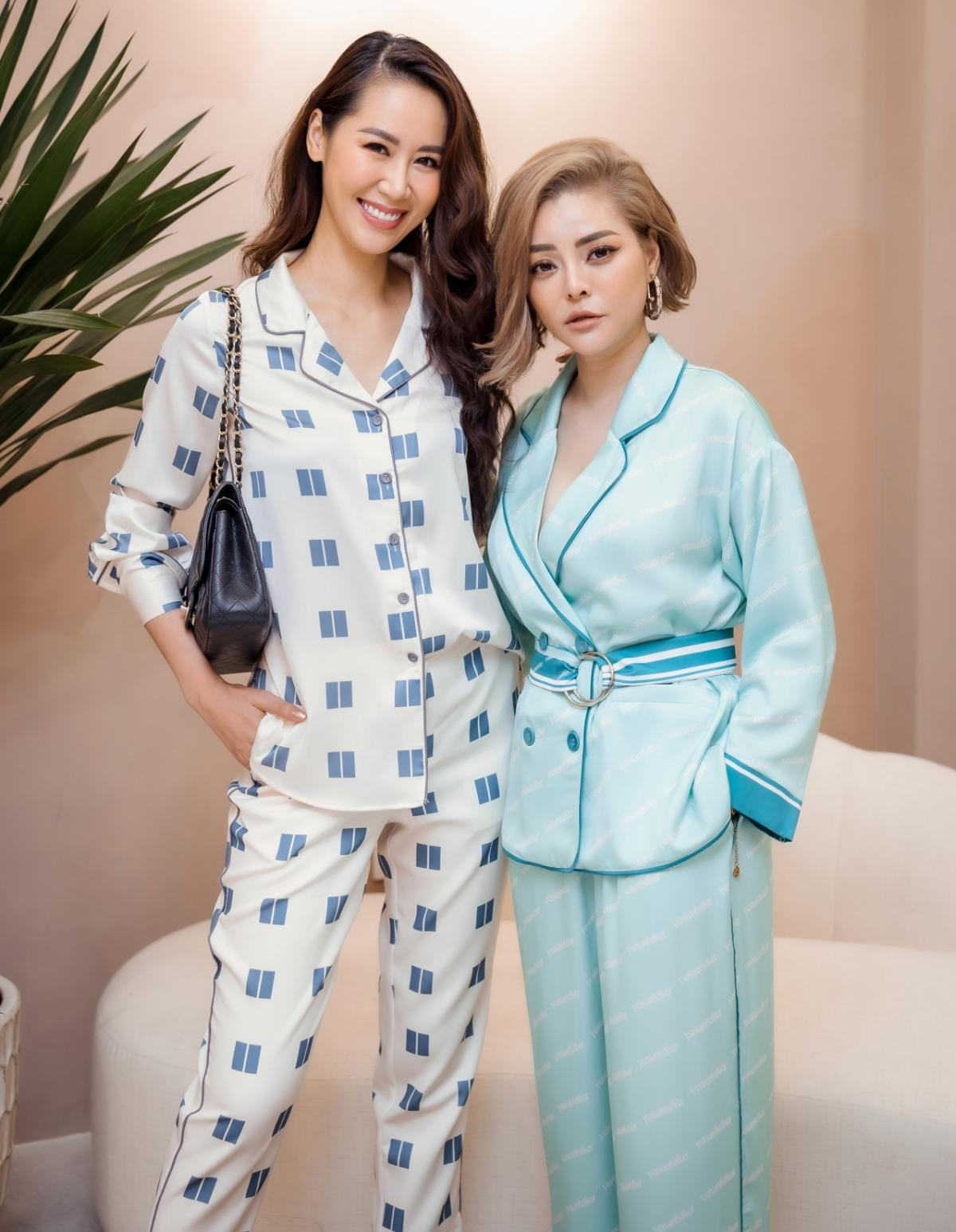 Lương Thu Trang, Dương Thùy Linh nổi bật trong pijama của NTK Thu Yến Ảnh 9