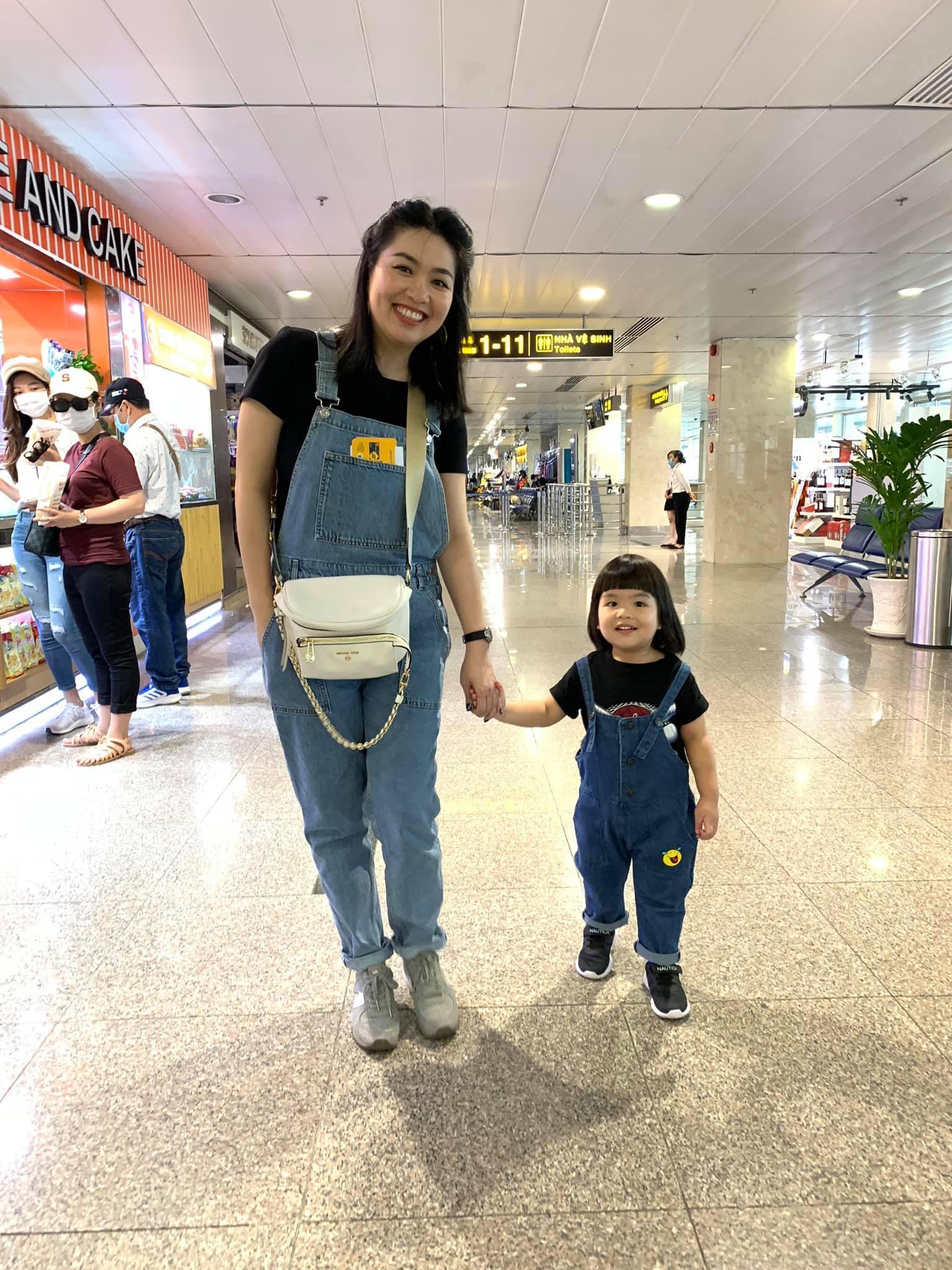 Diễn viên Lê Khánh cho con trai để tóc dài như con gái, lạ nhất là câu trả lời khi có người hỏi giới tính của con Ảnh 3