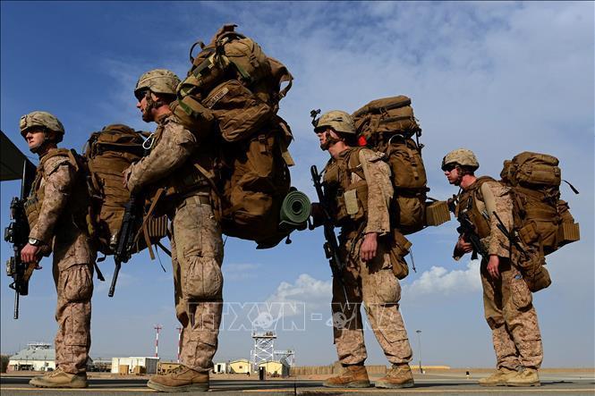 Lực lượng Mỹ tại Afghanistan bàn giao căn cứ cho quân đội sở tại Ảnh 1