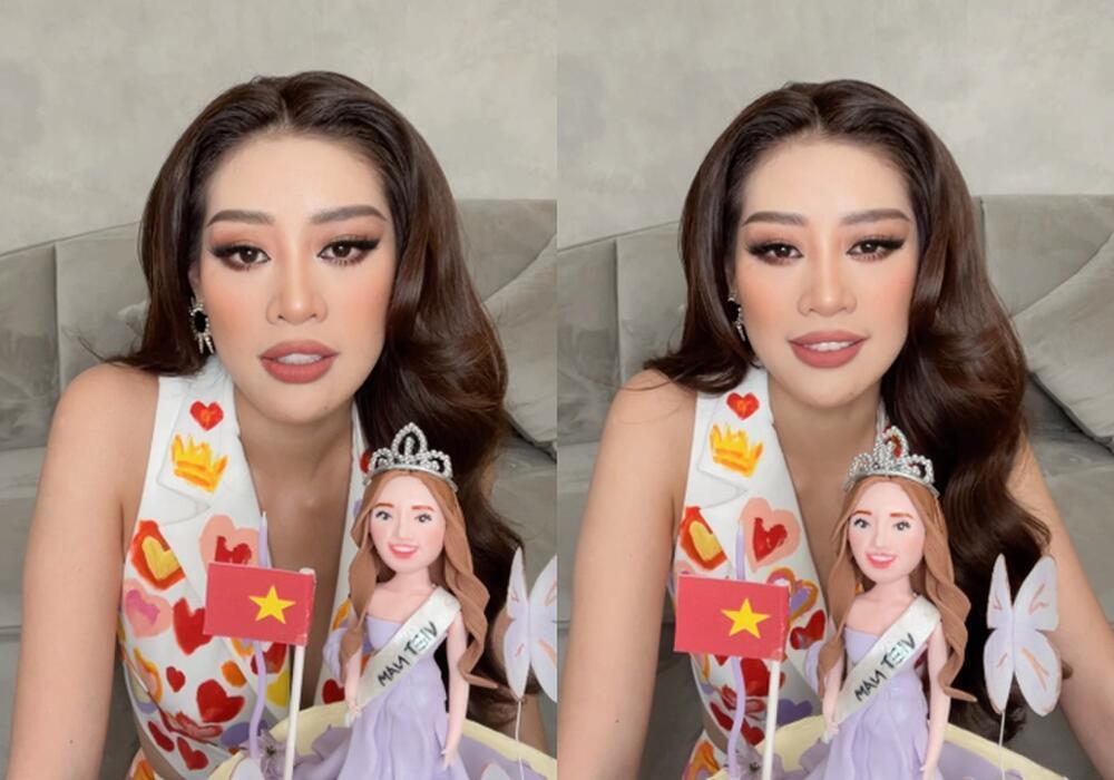 Khánh Vân đeo lại đôi bông tai 'phong thủy' lên đường sang Mỹ: Quyết tâm đăng quang Miss Universe 2020? Ảnh 3