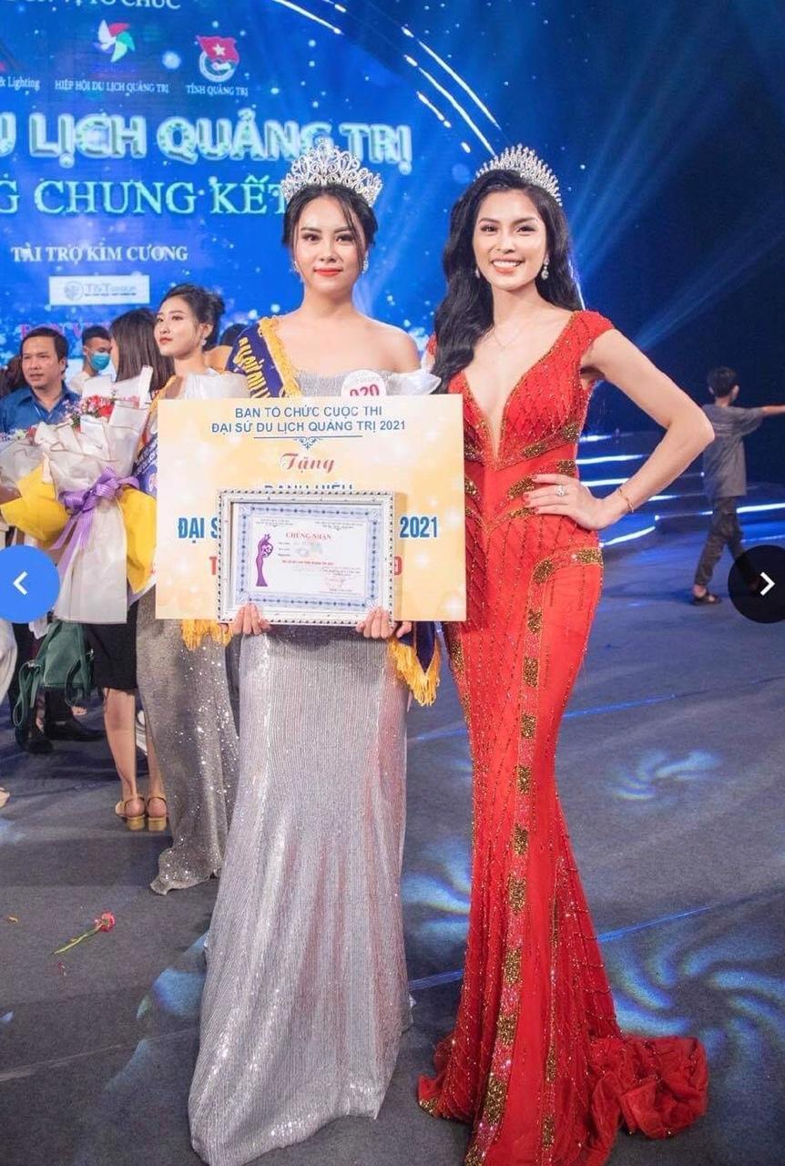 Kim Huyền Sâm xinh đẹp tại chung kết Đại sứ du lịch Quảng Trị 2021 Ảnh 5