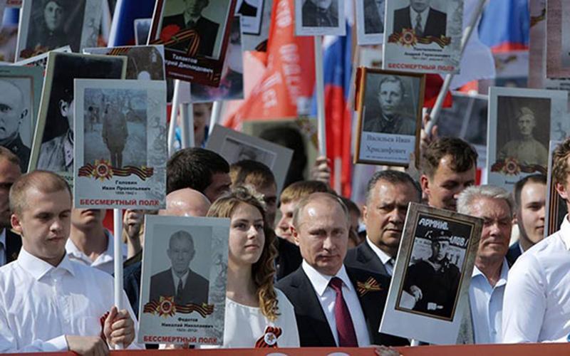 Nước Nga hướng về Ngày Chiến thắng 9-5 Ảnh 1
