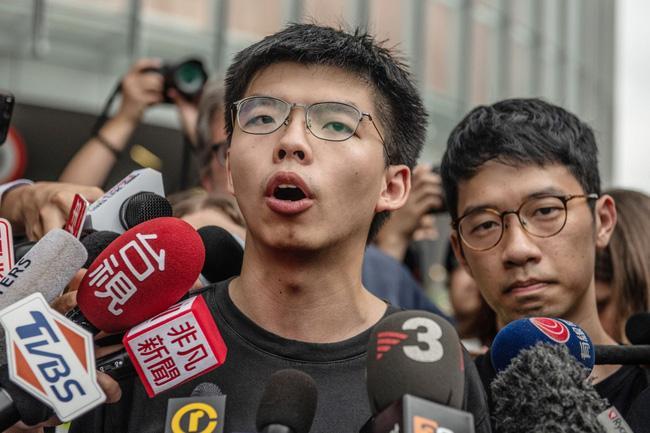 Tòa án Hong Kong tuyên phạt 10 tháng tù đối với Hoàng Chi Phong Ảnh 1