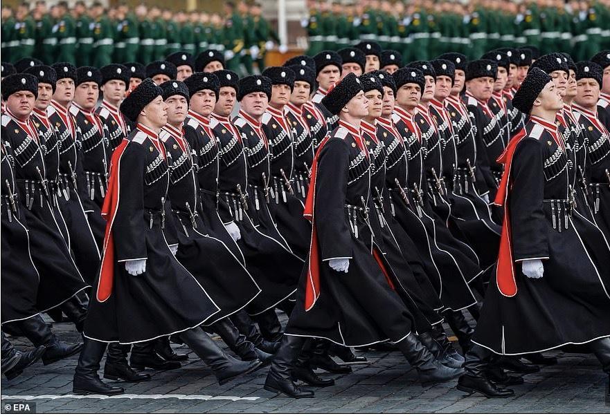 Ngắm các đội quân quyến rũ của Tổng thống Nga Ảnh 6