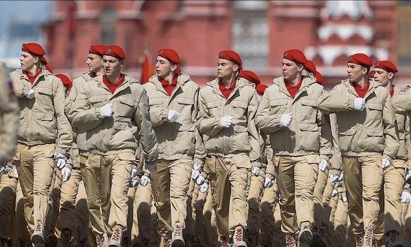 Ngắm các đội quân quyến rũ của Tổng thống Nga Ảnh 9