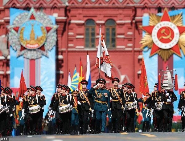Ngắm các đội quân quyến rũ của Tổng thống Nga Ảnh 8