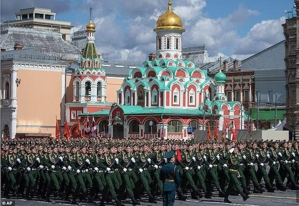 Ngắm các đội quân quyến rũ của Tổng thống Nga Ảnh 11