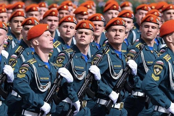 Ngắm các đội quân quyến rũ của Tổng thống Nga Ảnh 2