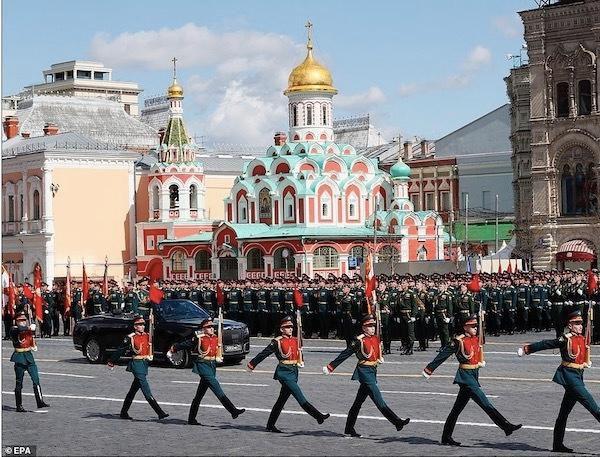 Ngắm các đội quân quyến rũ của Tổng thống Nga Ảnh 3