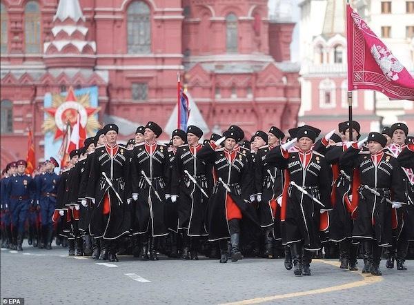 Ngắm các đội quân quyến rũ của Tổng thống Nga Ảnh 10