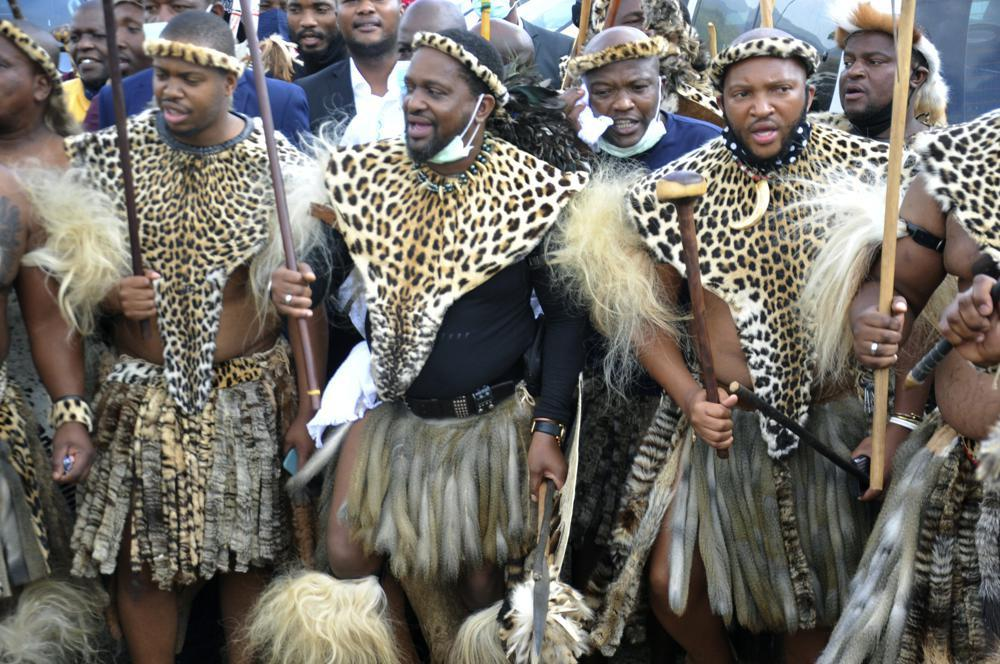 Hoàng tử Zulu tranh giành ngai vàng Ảnh 1
