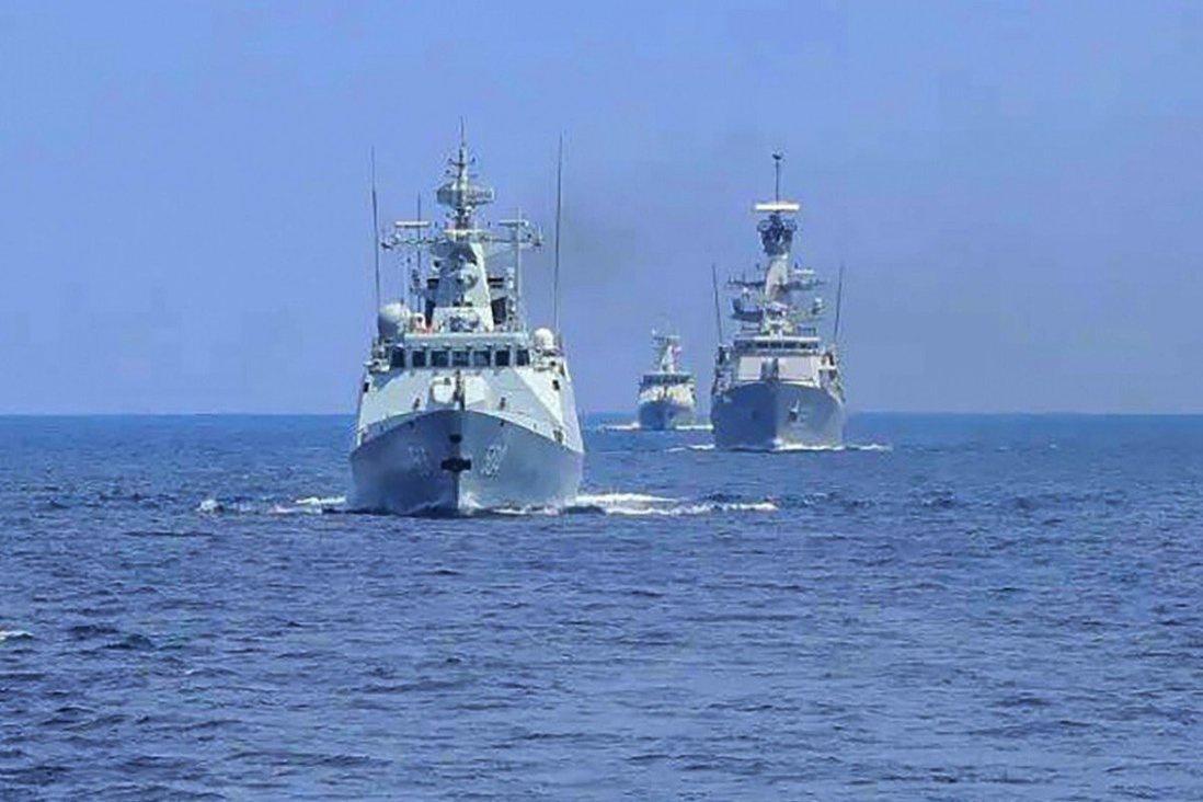 Hải quân Trung Quốc và Indonesia tập trận chung Ảnh 1