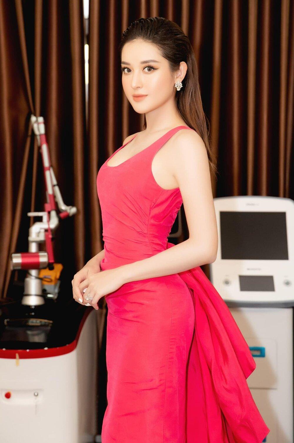 Á hậu Huyền My nền nã với sắc hồng ngọt ngào Ảnh 3