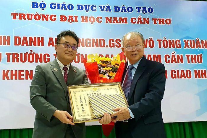 Nhật Bản trao tặng huy chương cho giáo sư Võ Tòng Xuân Ảnh 1