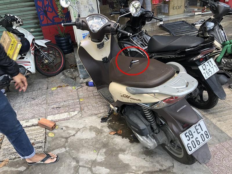 Tài xế công nghệ tông xe vào kẻ trộm xe máy ở Bình Thạnh Ảnh 2