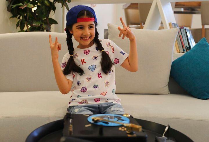 Cô bé 9 tuổi thành DJ trẻ nhất Dubai Ảnh 1