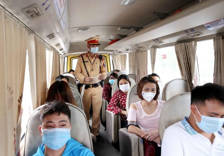 CSGT Hà Nội huy động lực lượng hướng tới ngày hội bầu cử Ảnh 8