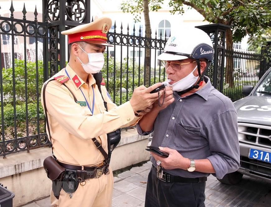 CSGT Hà Nội huy động lực lượng hướng tới ngày hội bầu cử Ảnh 4