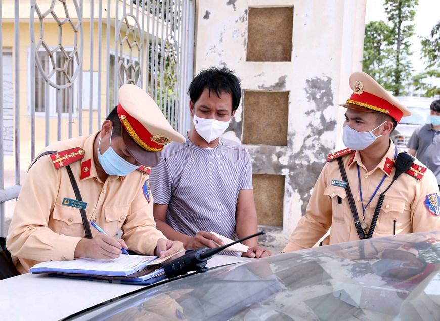 CSGT Hà Nội huy động lực lượng hướng tới ngày hội bầu cử Ảnh 11